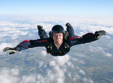 Skydive for Aware