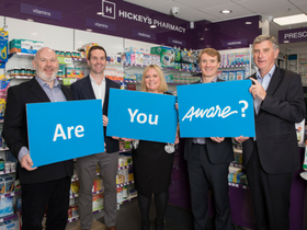 Hickey's Pharmacy announce Aware as Charity Partner