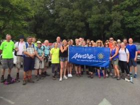 Aware Volunteers trek with IPA Hiking Club