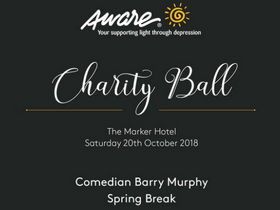 Save the Date: Aware Charity Ball