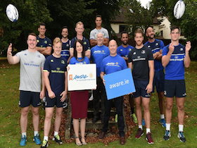 Leinster Rugby Announce Charity Partners Aware and DEBRA Ireland